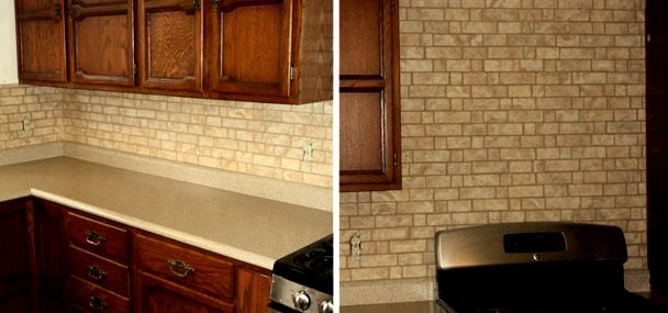 tile backdrop stove